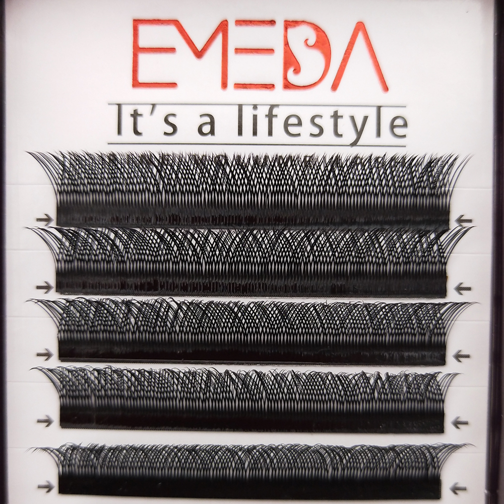 2020 high quality YY eyelash extension individual lashes in bulk with private label JN51