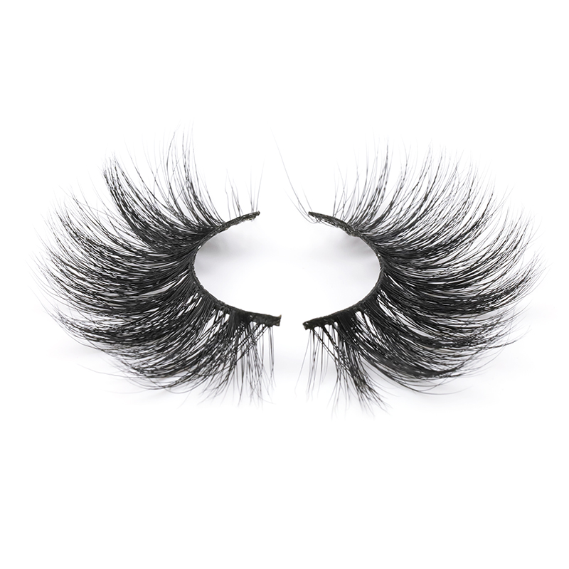 2020 Best Seller Dramatic Fluffy 25mm 30mm Real Mink Lashes PL715 ZX102