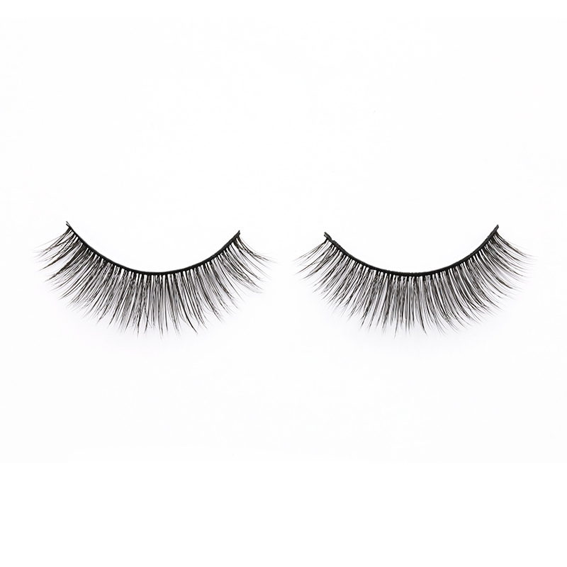 Inquiry for wholesale  soft and comfortable to wear premium natural short 3D silk lashes and fashionable style in custom lash case 2020 XJ73