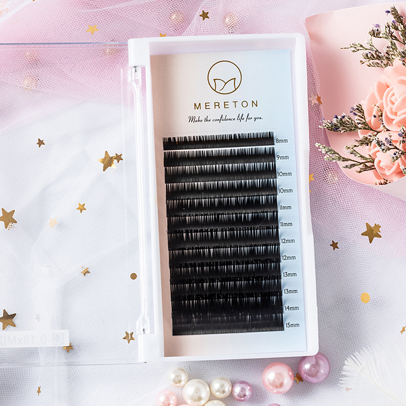 Obeya Eyelash Extension C 0.15mm 8-15mm Mixed Trays Individual Lash Extensions JH37