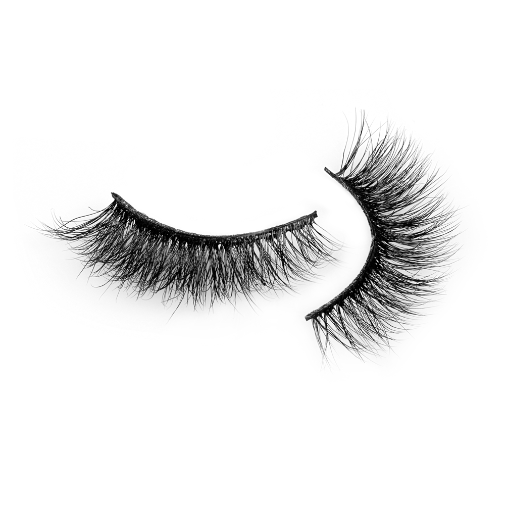 Inquiry for wholesale 100% real siberian mink natural looks and soft band Cruelty free Private label 3d mink lashes in UK XJ51