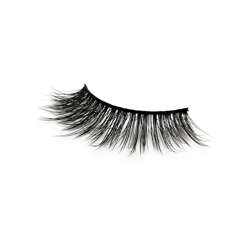 Wholesale 3D lashes eyelashes natural silk best faux lashes JN08