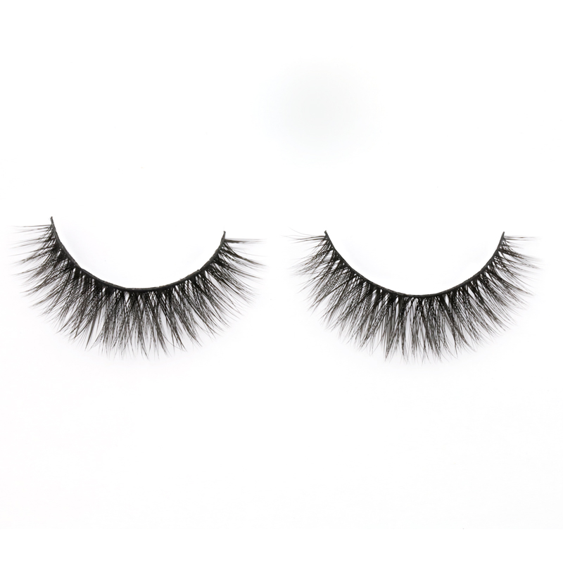 Inquiry for wholesale best selling natural and wispy 3D silk lashes with reusable lash band and most comfortable synethetic hair in US and UK 2020 XJ74