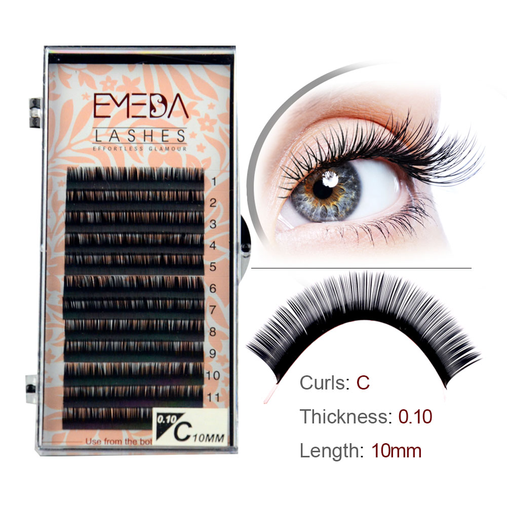 Wholesale Price C D Curl Russian Volume Eyelash Extension in the UK and the US YY72