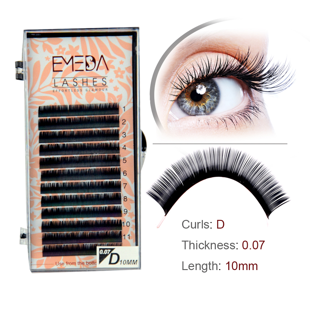 High-Quality Wholesale Price Russian Volume Eyelash Extension ODM/OEM YY05