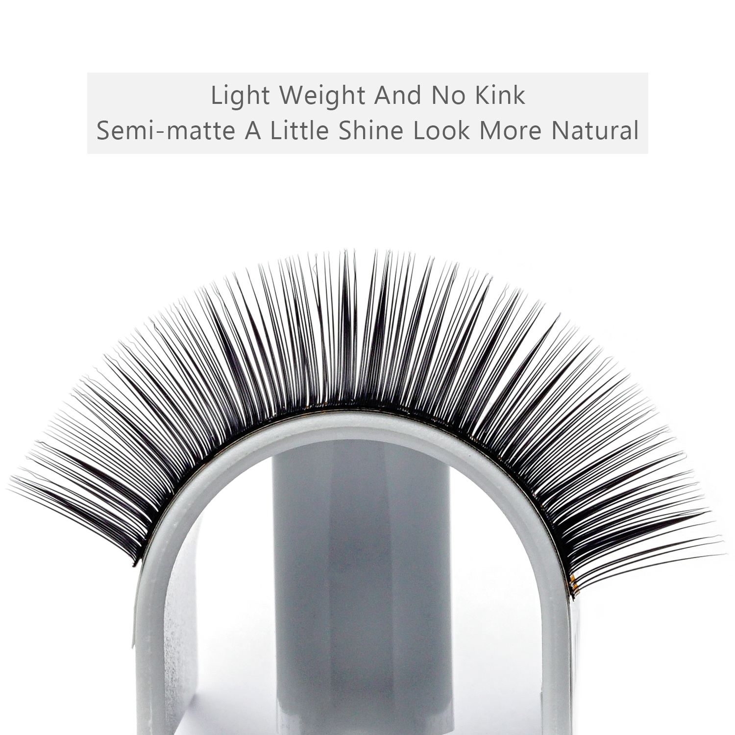 Individual Lashes Vendor Supply Eyelash Extension with Private Label Korea PBT Fiber/Silk Volume Lashes YY14