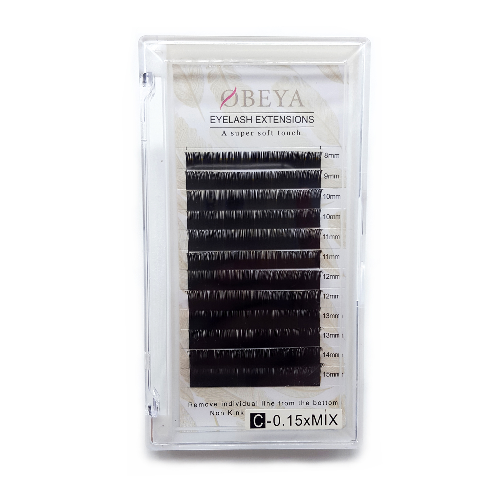 Free Samples Acceptable for Wholesale Price Volume Eyelash Extension 0.07MM Lashes with Private Label in 2020 YY95