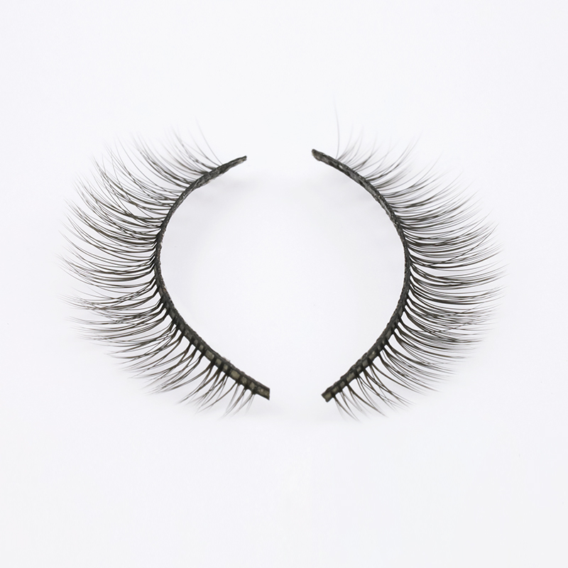 2020 New Private Label  Wholesale 3D Silk Lashes S...