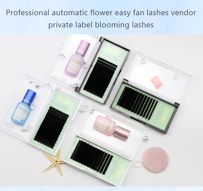 Inquiry for wholesale lashes professional automatic flower easy fan lashes blooming volume eyelash with private label 2021 YL
