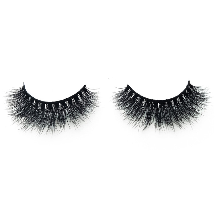 Wholesale Mink Lash Vendors 3D 100% Real Mink Fur Strip Lashes with Private Logo and Package YY49