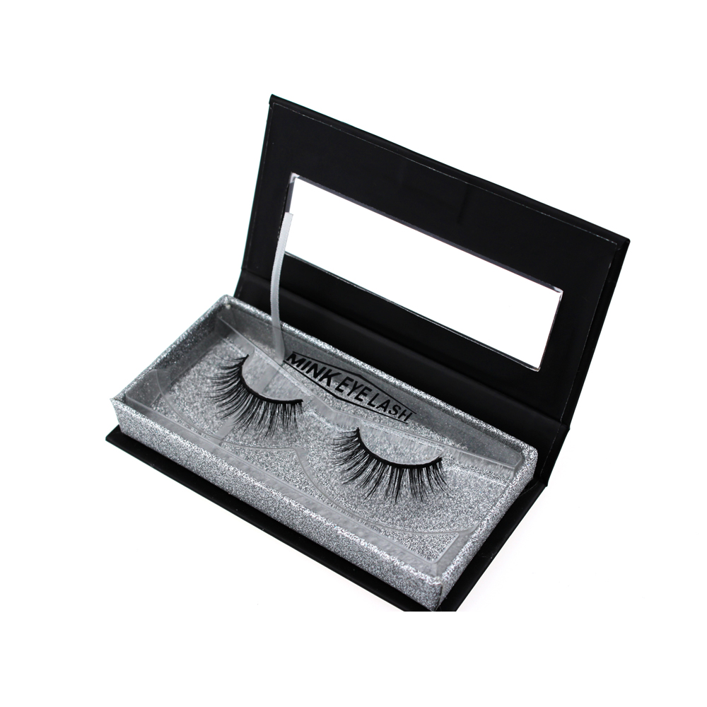 Private Label  Real Mink Lashes Custom Eyelash Packaging Box ZX036