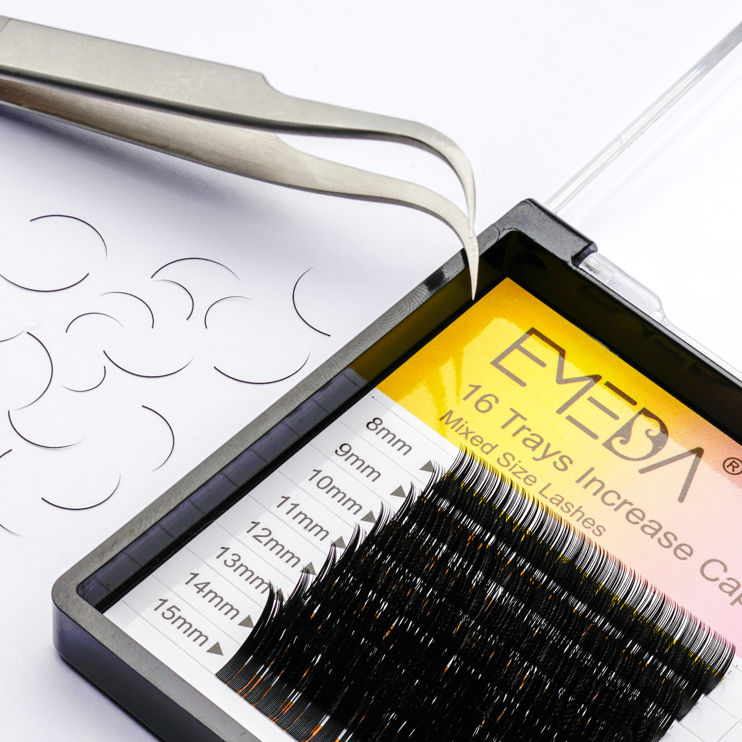Wholesale Korean PBT Fiber Private Lable Eyelash Extensions Vendor ZX13