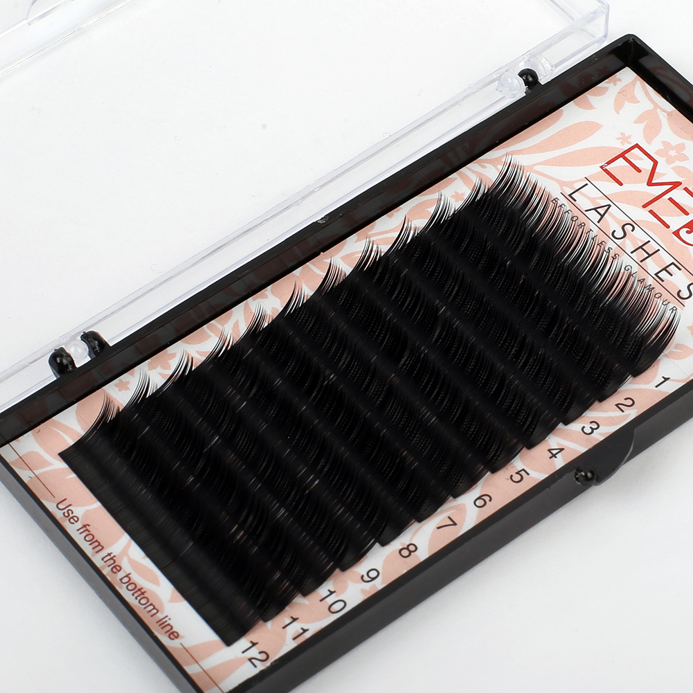 Wholesale Premium 100% Real Mink Eyelash Extension with Private Label ZX01