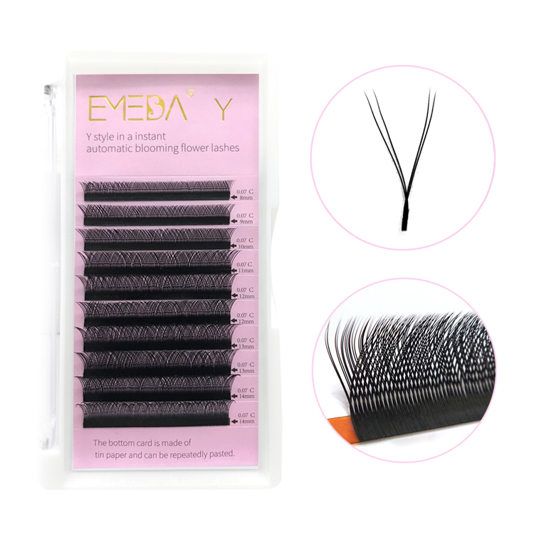 YY lash extension private label best lash supplier  OEM service JN44
